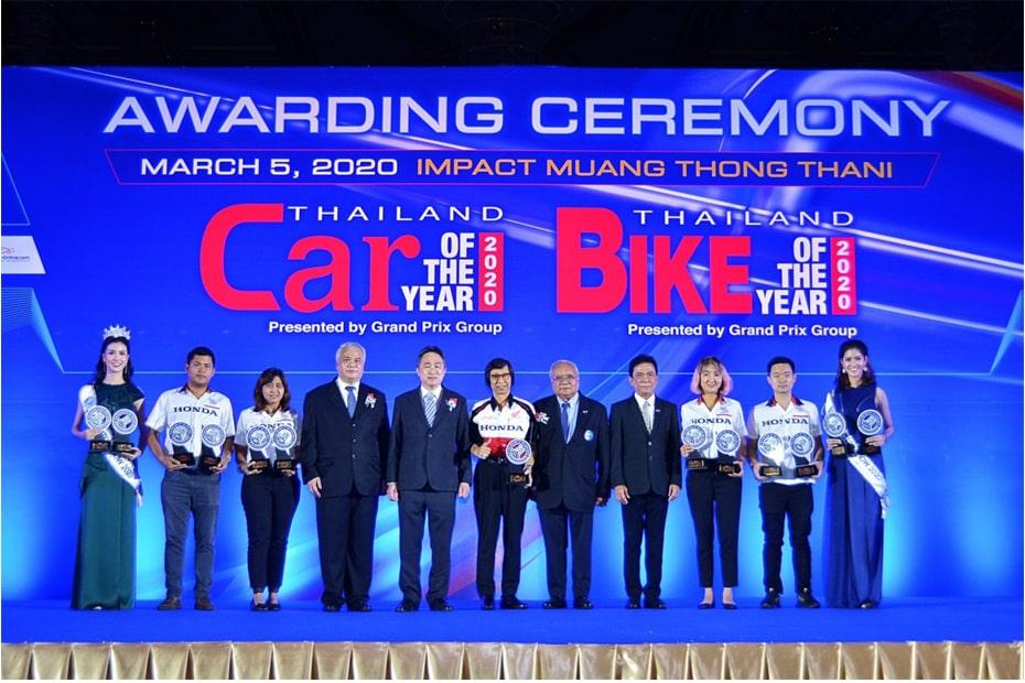 สกูตเตอร์ Honda X ADV ได้รับรางวัลชนะเลิศ Bike of the Year 2020