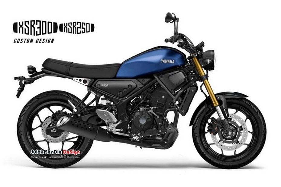 เผยภาพกราฟิก Yamaha XSR250 พื้นฐานและเครื่องยนต์จาก Yamaha R25 หรือ MT25