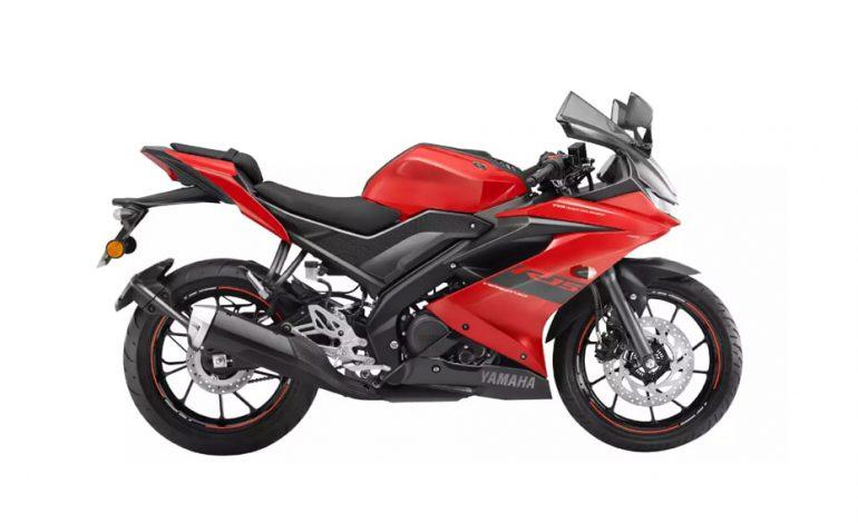 เปิดตัวสีใหม่ Yamaha YZF-R15 V3.0 2021 สี Metallic Red ในอินเดีย