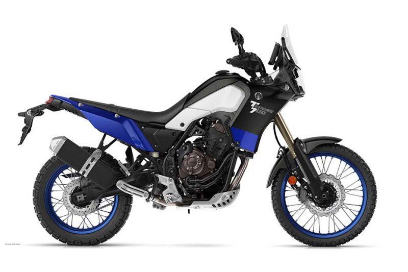 Yamaha Ténéré 700 รุ่นปี 2021