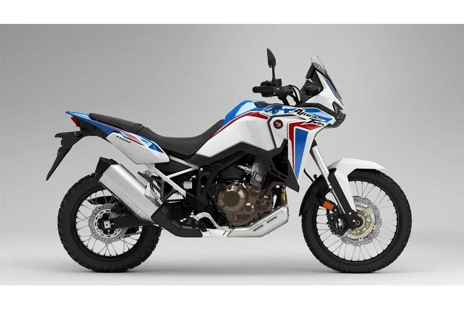 เผยโฉม Honda Africa Twin 2021 สีใหม่ Pearl Glare White Tricolor