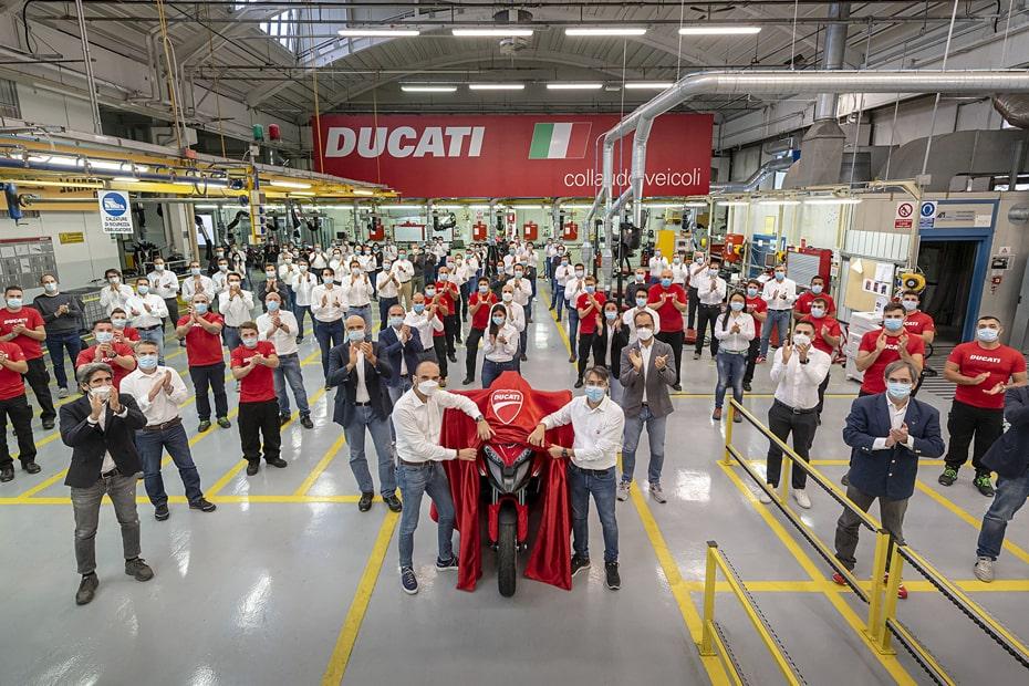 เผย Ducati อาจเรียก Multistrada ใหม่ว่า V4 Granturismo