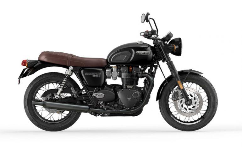เปิดตัว New Triumph Bonneville T120 และ T120 Black 2021 ในอินเดีย