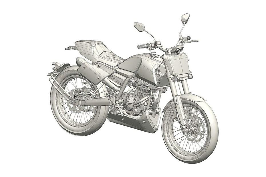 เผยรายละเอียดจีนกำลังสร้าง Aprilia flat-tracker 150cc